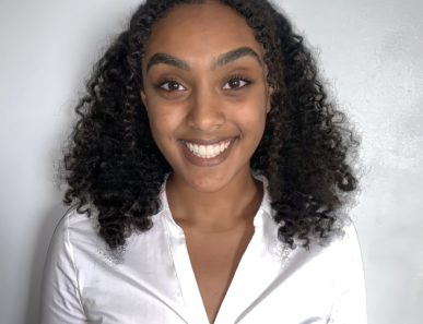 headshot of a young student